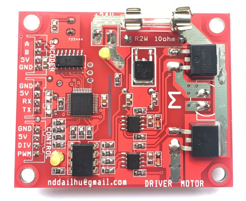 PID Driver for DC motor